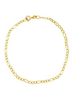 love-gold-9-carat-yellow-gold-solid-diamond-cut-figaro-bracelet-725in
