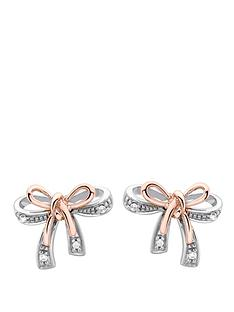 love-diamond-9-carat-white-and-rose-gold-diamond-set-bow-earrings