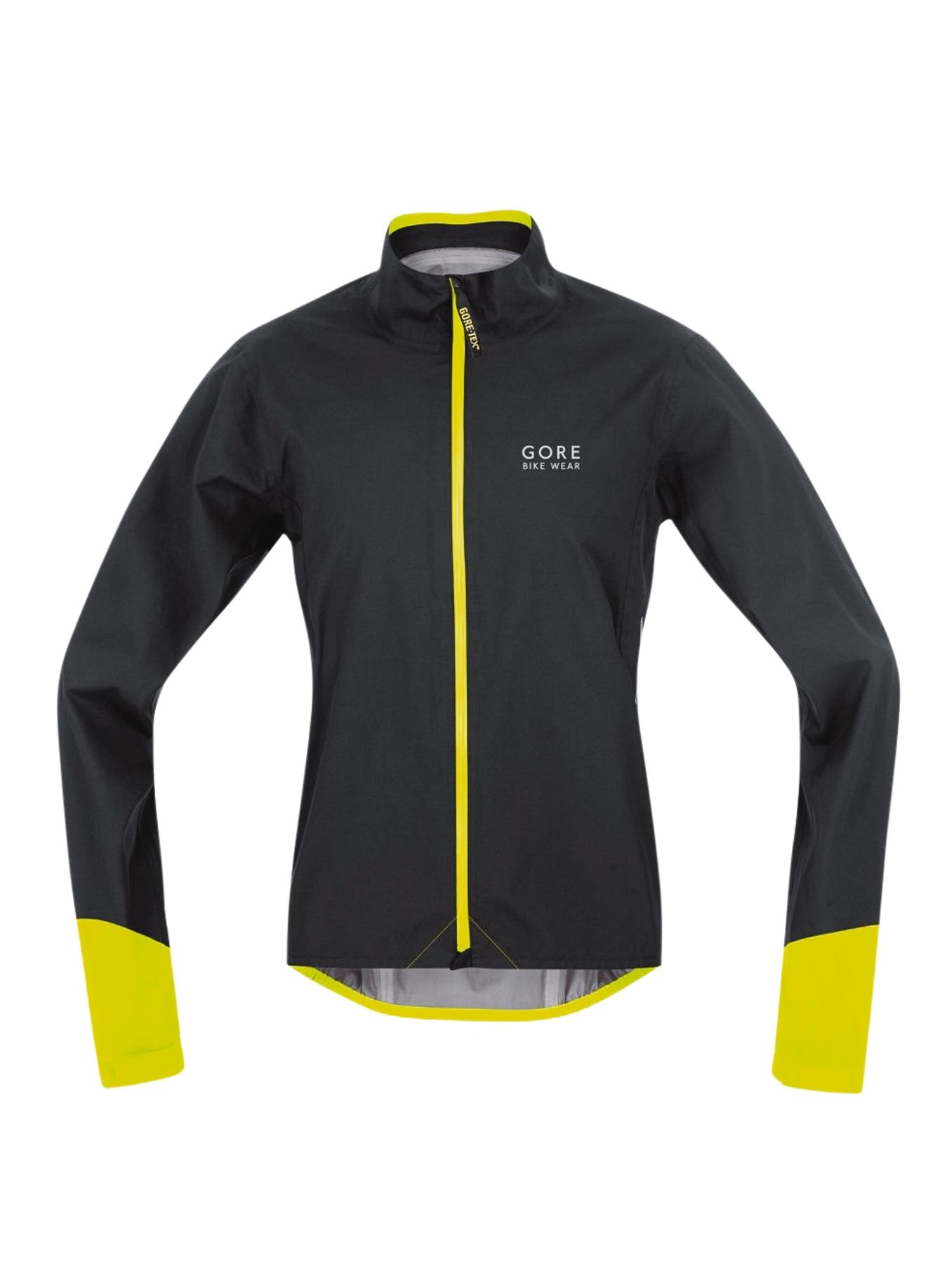 GORE Mens Power Gore-Tex Active Jacket - Black, Black,Blue