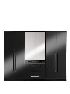 consort-palermo-6-door-3-drawer-wardrobe-with-mirror