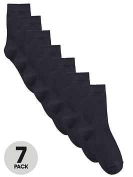 top-class-unisex-short-school-socks-7-pack