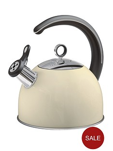 morphy-richards-whistling-kettle-25-litre-cream