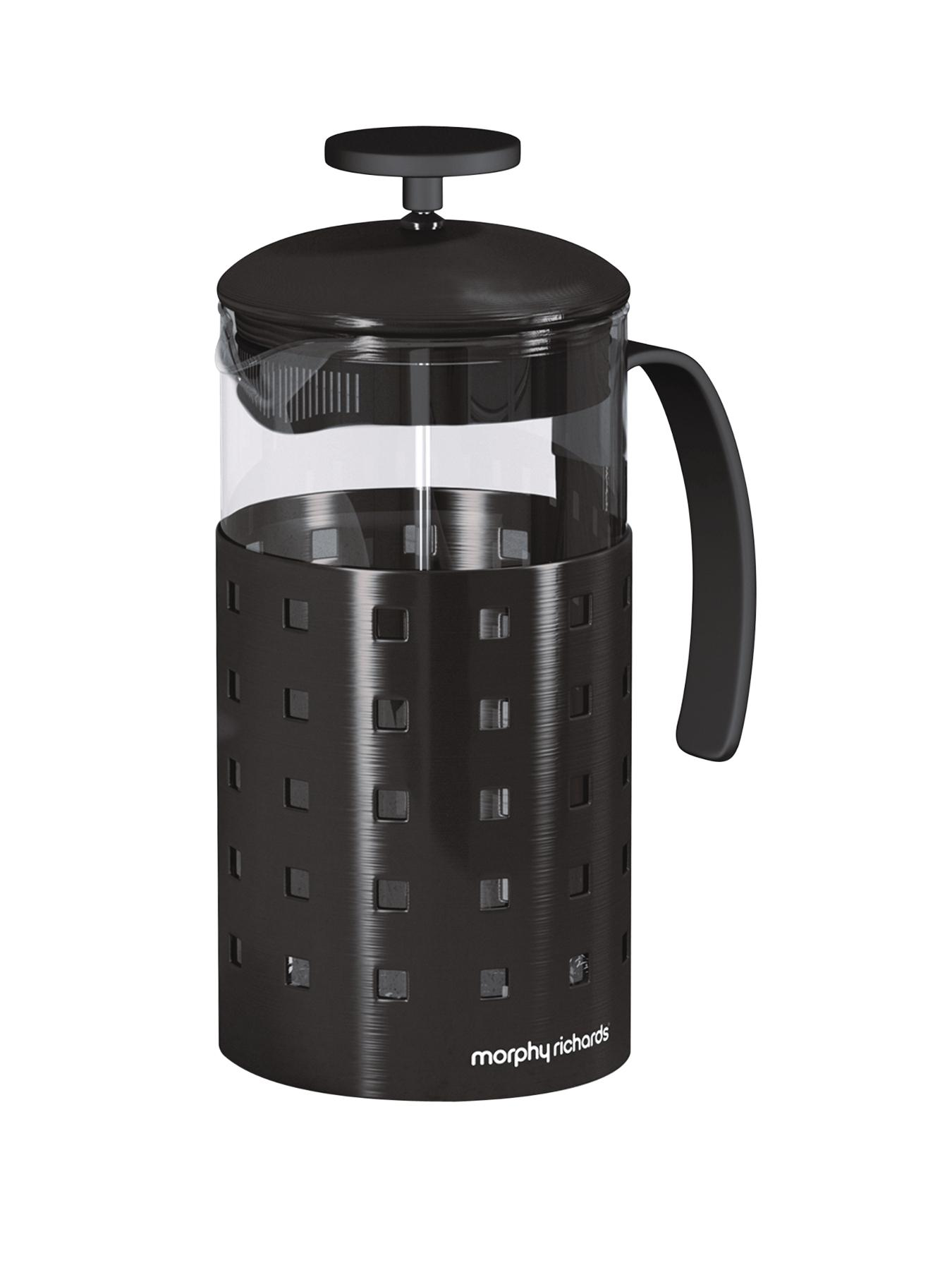 Morphy Richards 8 Cup Cafetiere 1000 ml - Black