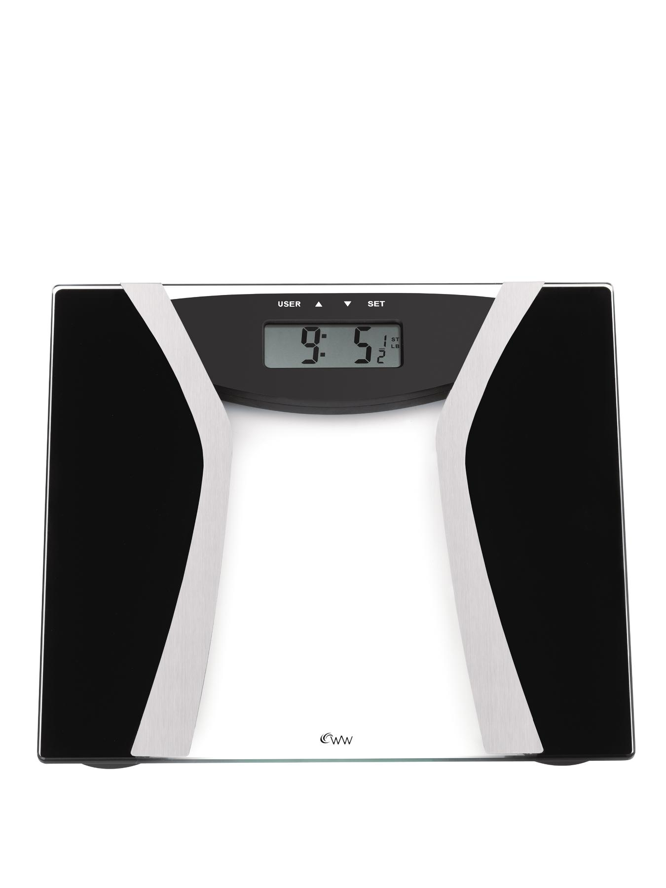 Weight Watchers 8936U Ultimate Glass Body Fat Tracker Scales