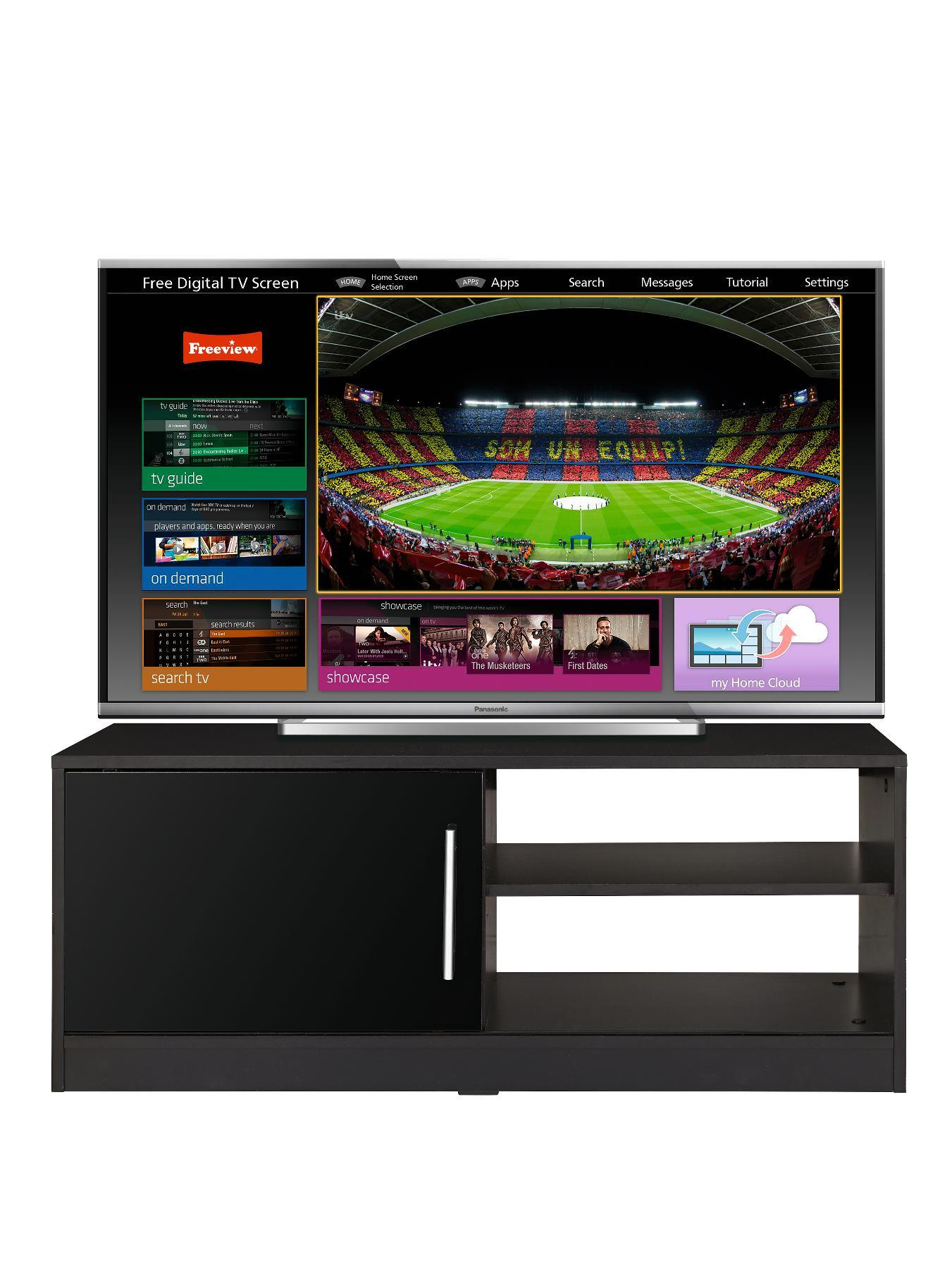 New Prague Gloss TV Unit - fits up to 44 inch TV at Very, from Littlewoods