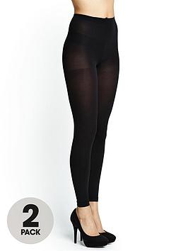 love-label-80-denier-footless-tights-2-pack