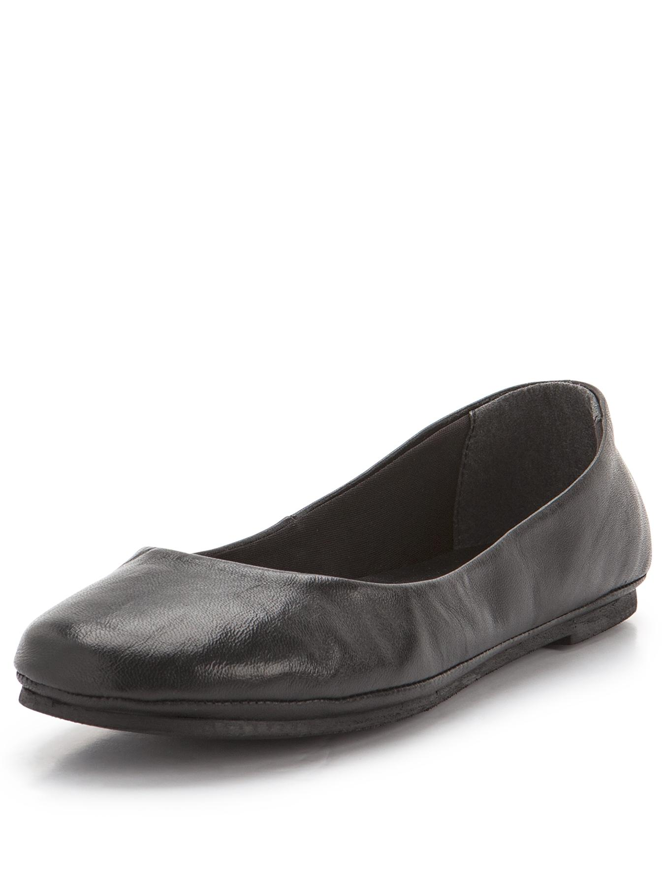 Shoe Box Perfect Leather Pumps - Black, Black