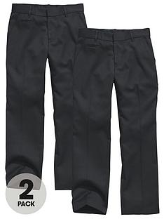 top-class-boys-teflon-coated-coin-pocket-trousers-2-pack