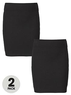 top-class-girls-school-uniform-jersey-teen-tube-skirts-2-pack