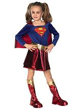 Girls Deluxe Supergirl - Child Costume
