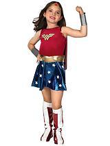 Girls Deluxe Wonder Woman - Child Costume