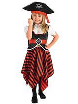 Pirate Girl - Child Costume