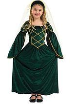 Girls Tudor Princess - Child Costume