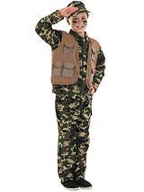 Boys Military Army Boy Costume