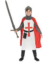 Boys Crusader Knight - Child Costume