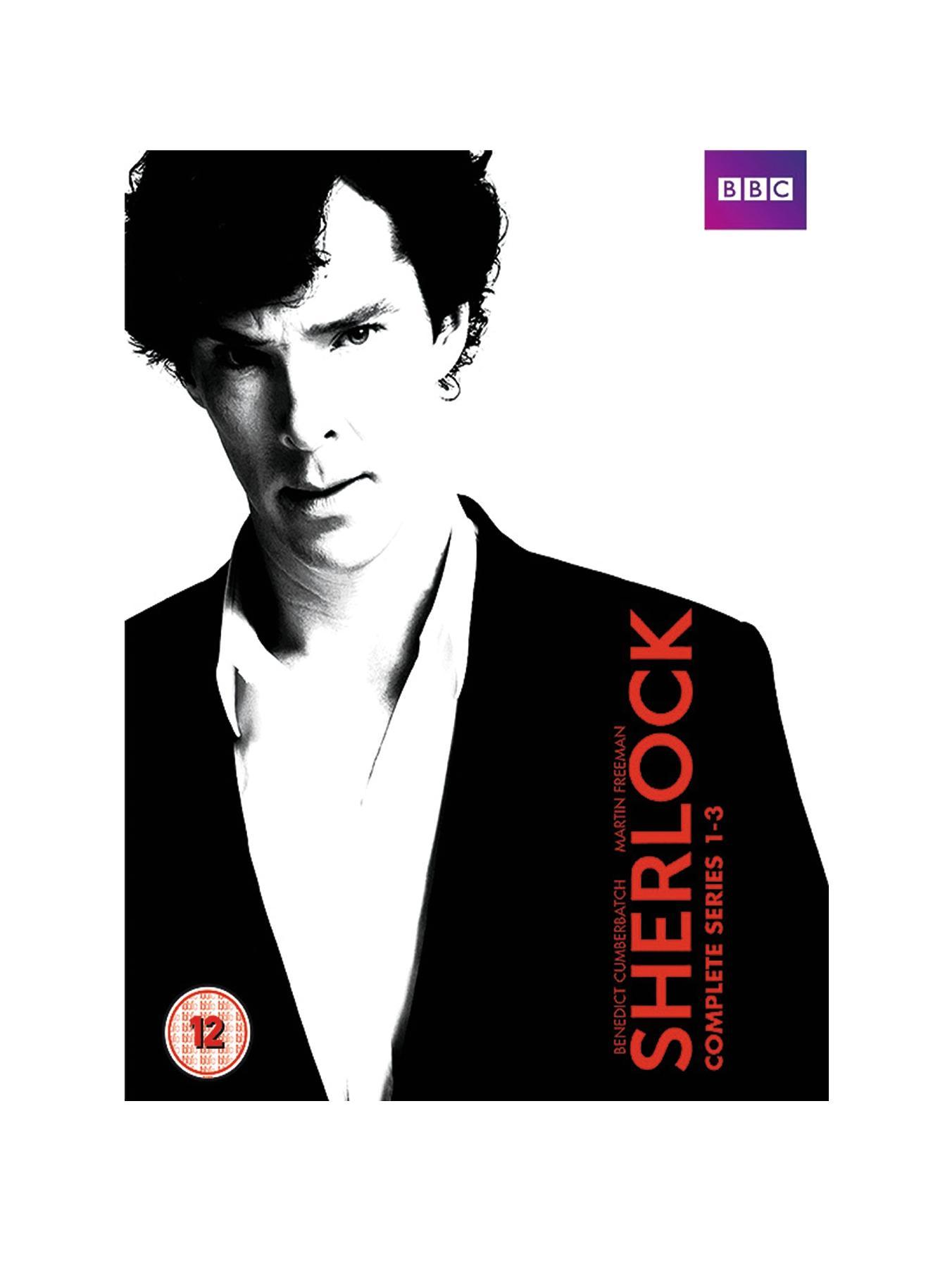 Sherlock - Complete Series 1-3 DVD