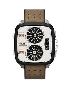 diesel-hal-tan-leather-strap-mens-watch