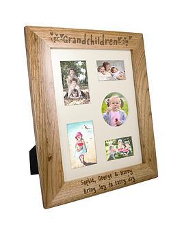 personalised-grandchildren-wooden-frame