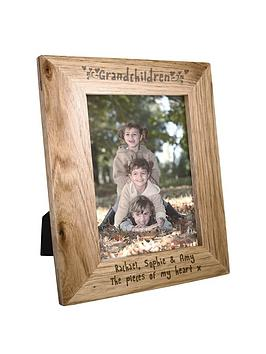 personalised-5x7-grandchildren-wooden-photo-frame