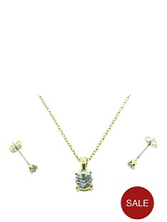 gold-plated-solitaire-crystal-earrings-and-pendant-set