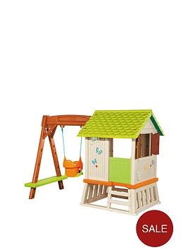 smoby-winnie-the-pooh-hut-and-swing