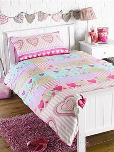 hearts-single-duvet-cover-pillowcase-set