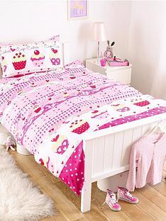 cupcakes-single-duvet-cover-pillowcase-set