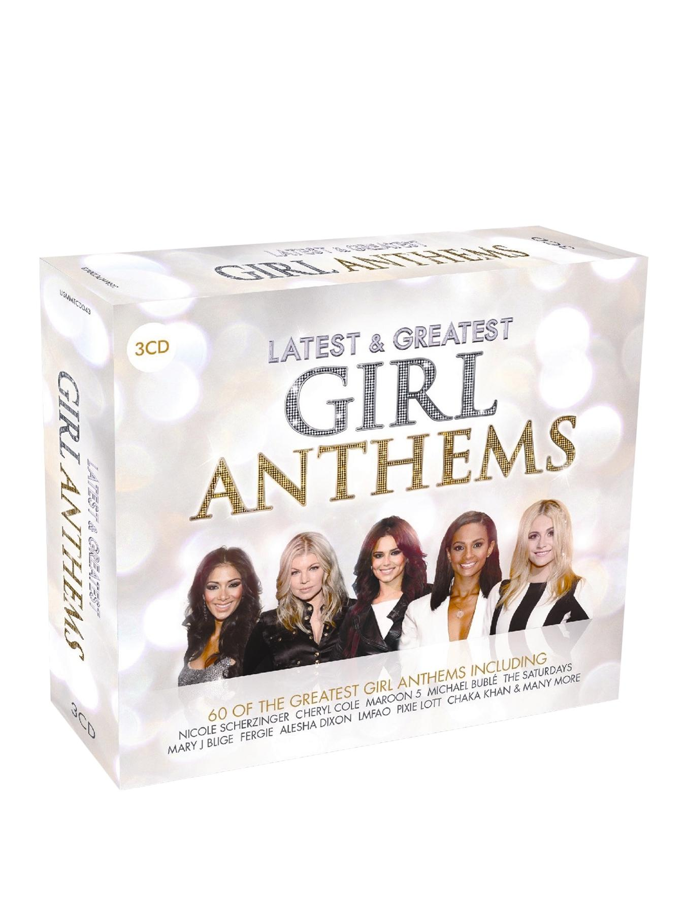Latest and Greatest Girl Anthems CD