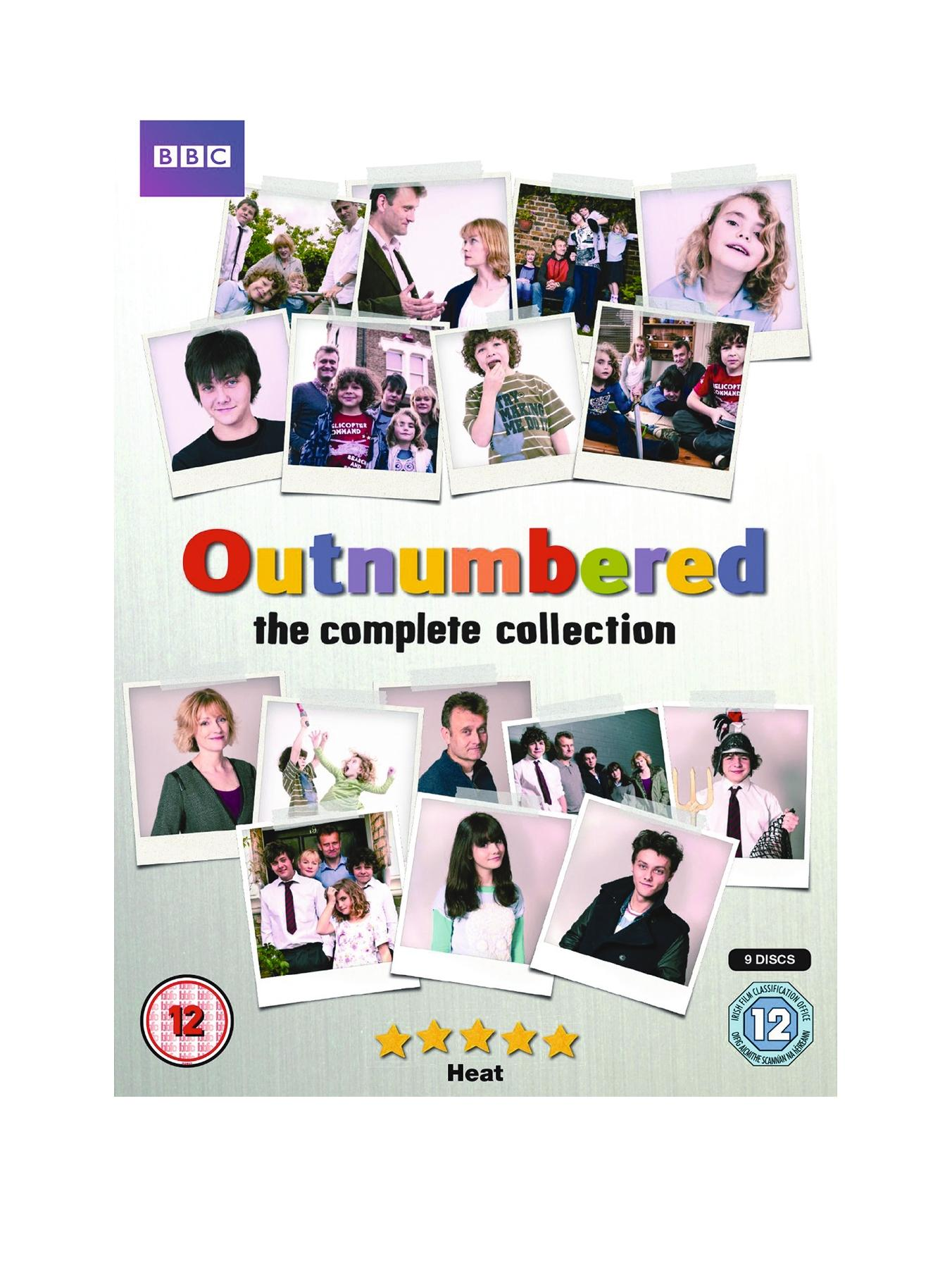 Outnumbered Series 1-5 DVD
