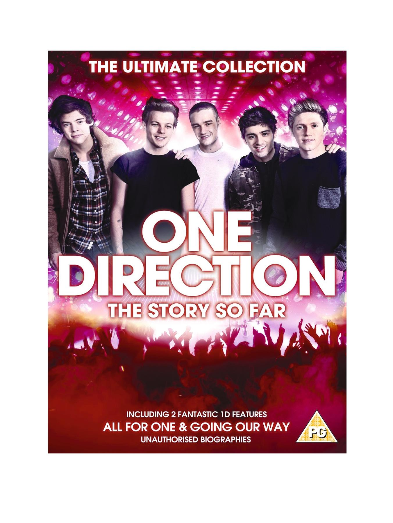 One Direction The Story So Far DVD