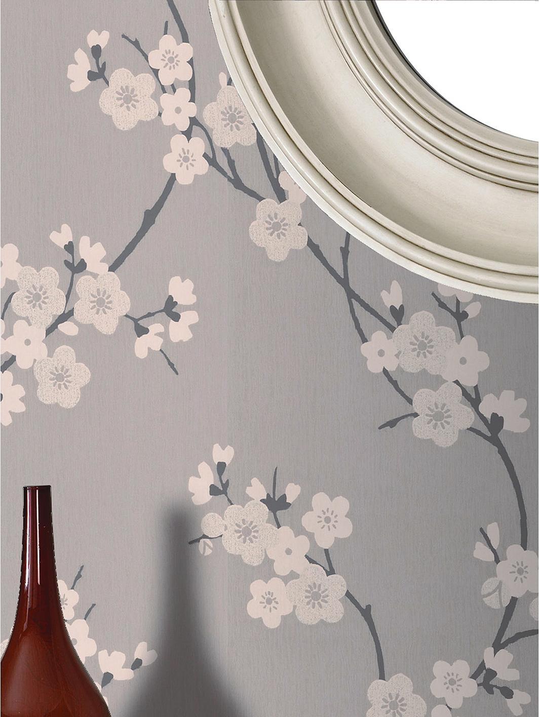 Superfresco cherry blossom wallpaper - Tapisserie graham brown ...