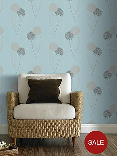 graham-brown-blue-label-essence-allium-wallpaper-blue