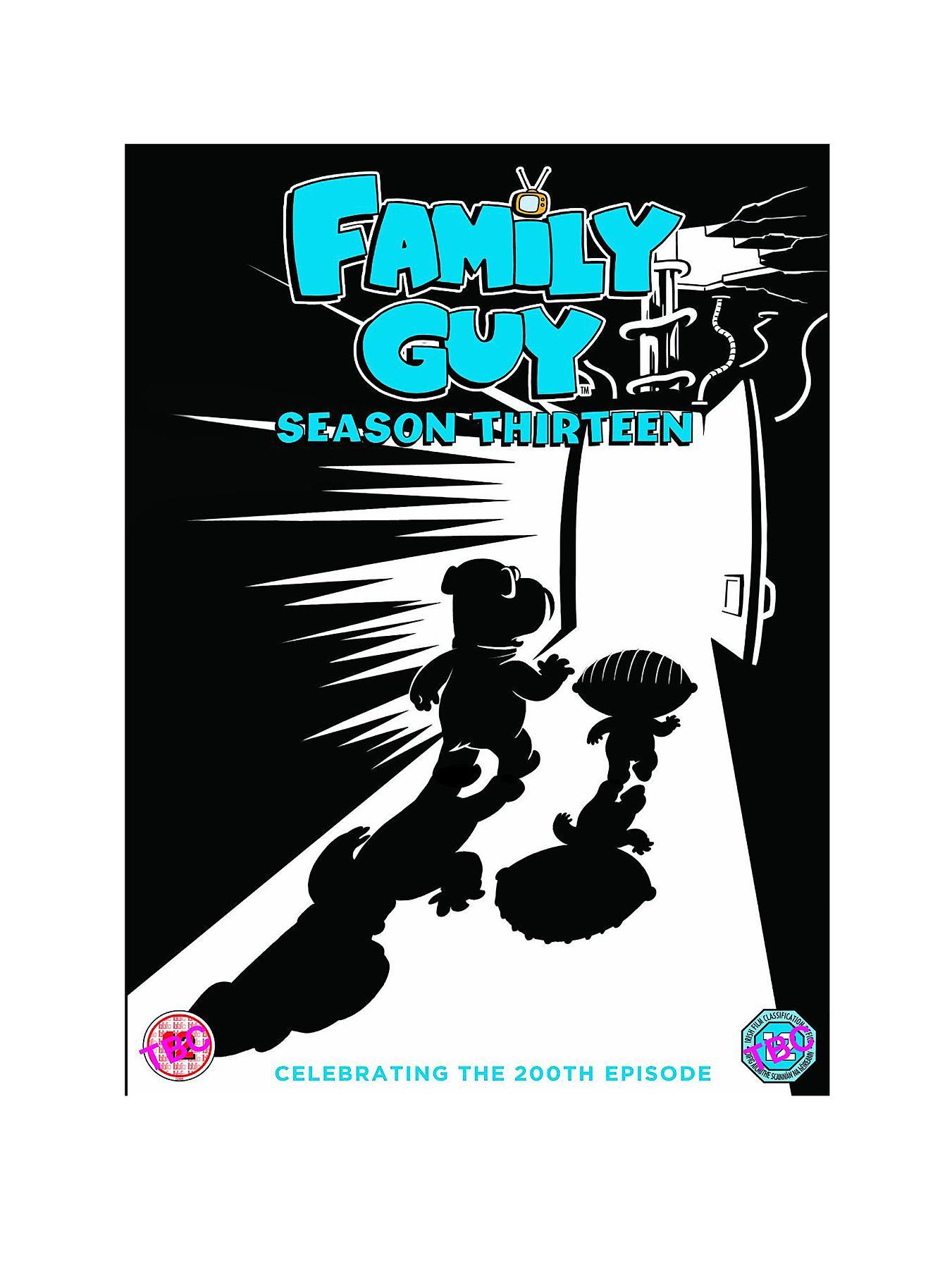 Family Guy - Season Thirteen DVD