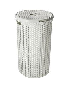 Bathroom storage home garden - High end laundry hamper ...
