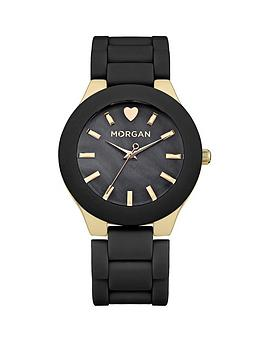 morgan-blue-dial-gold-tone-soft-touch-ladies-watch