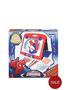 spiderman-travel-art-easel