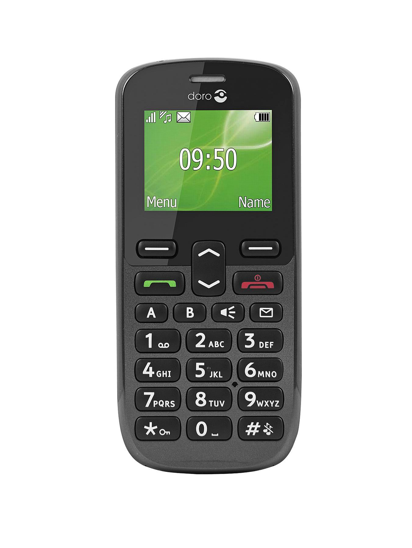 Doro PhoneEasy 508 Mobile Phone - Black