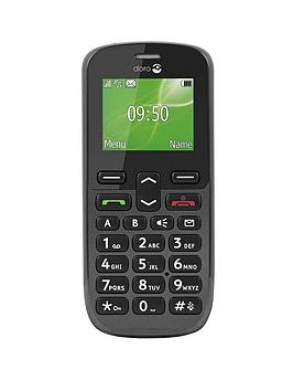 doro-phoneeasy-508-black