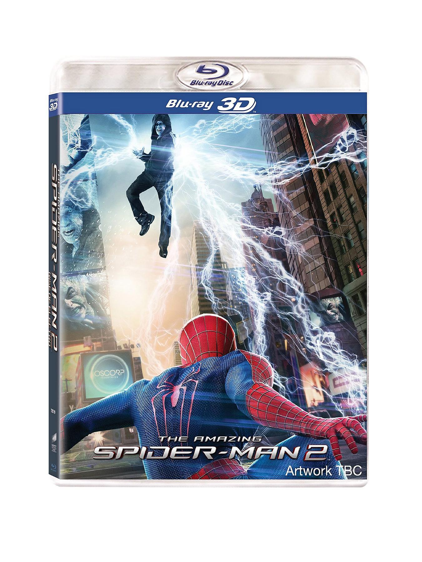 The Amazing Spider-Man 2 3D Blu-ray FREE foldable flying disc