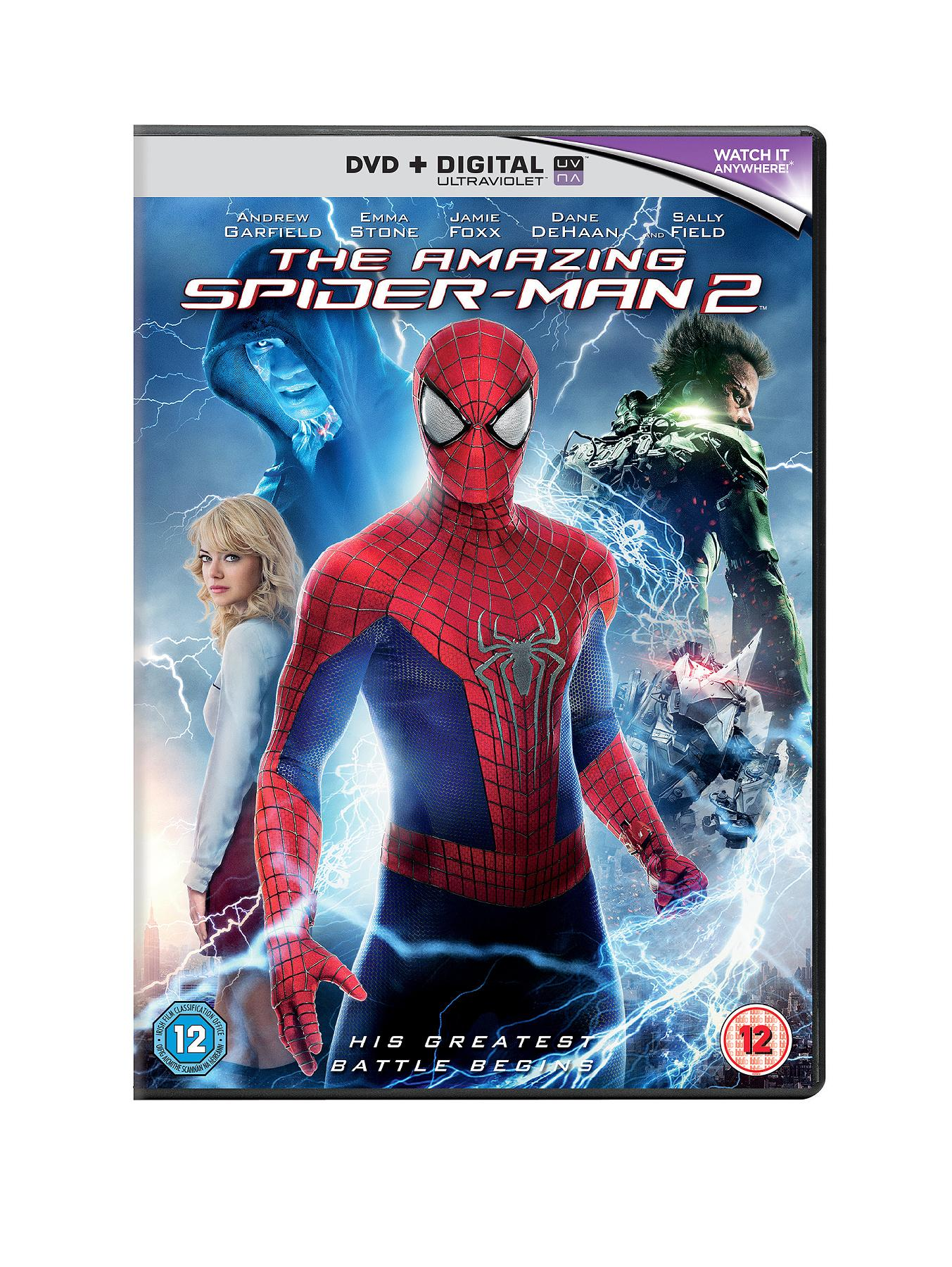 The Amazing Spider-Man 2 DVD FREE foldable flying disc