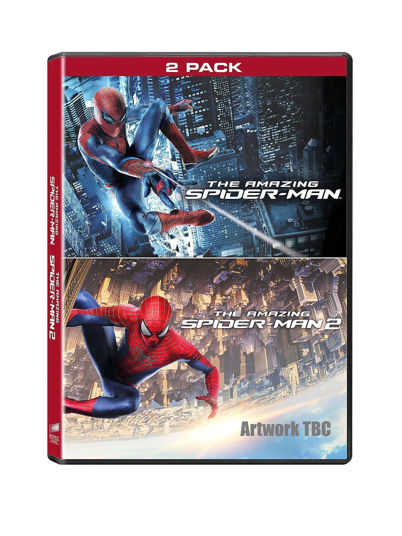 The Amazing Spider-Man 1-2 DVD