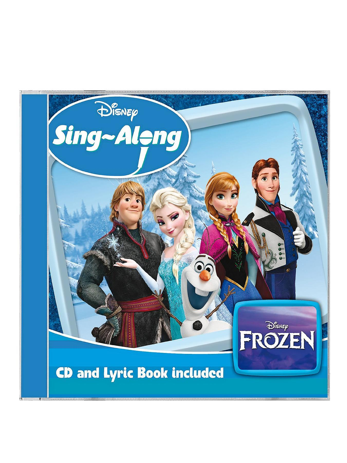 Disney Frozen Sing-Along Instrumental CD