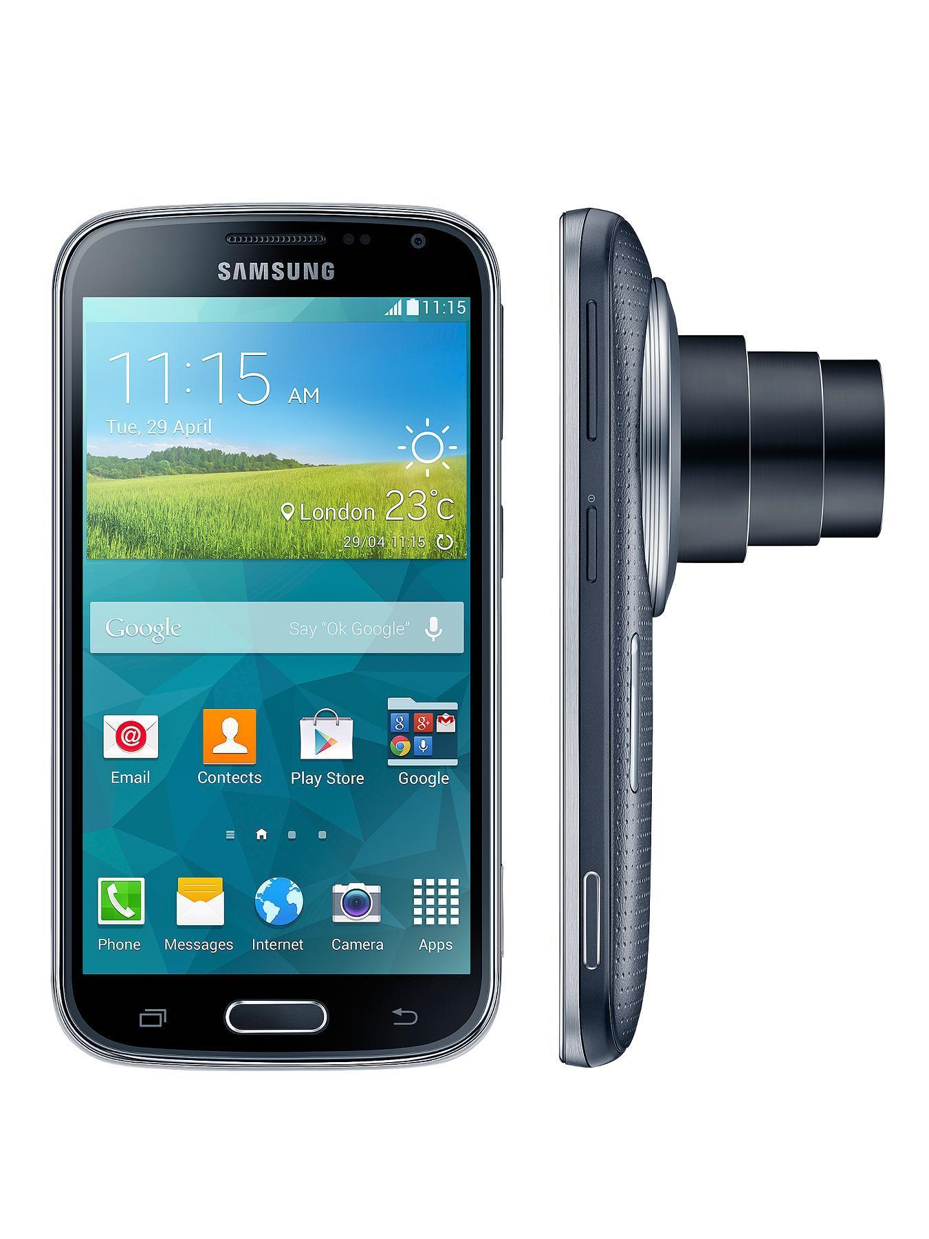 Samsung Galaxy K Zoom Smartphone - Black