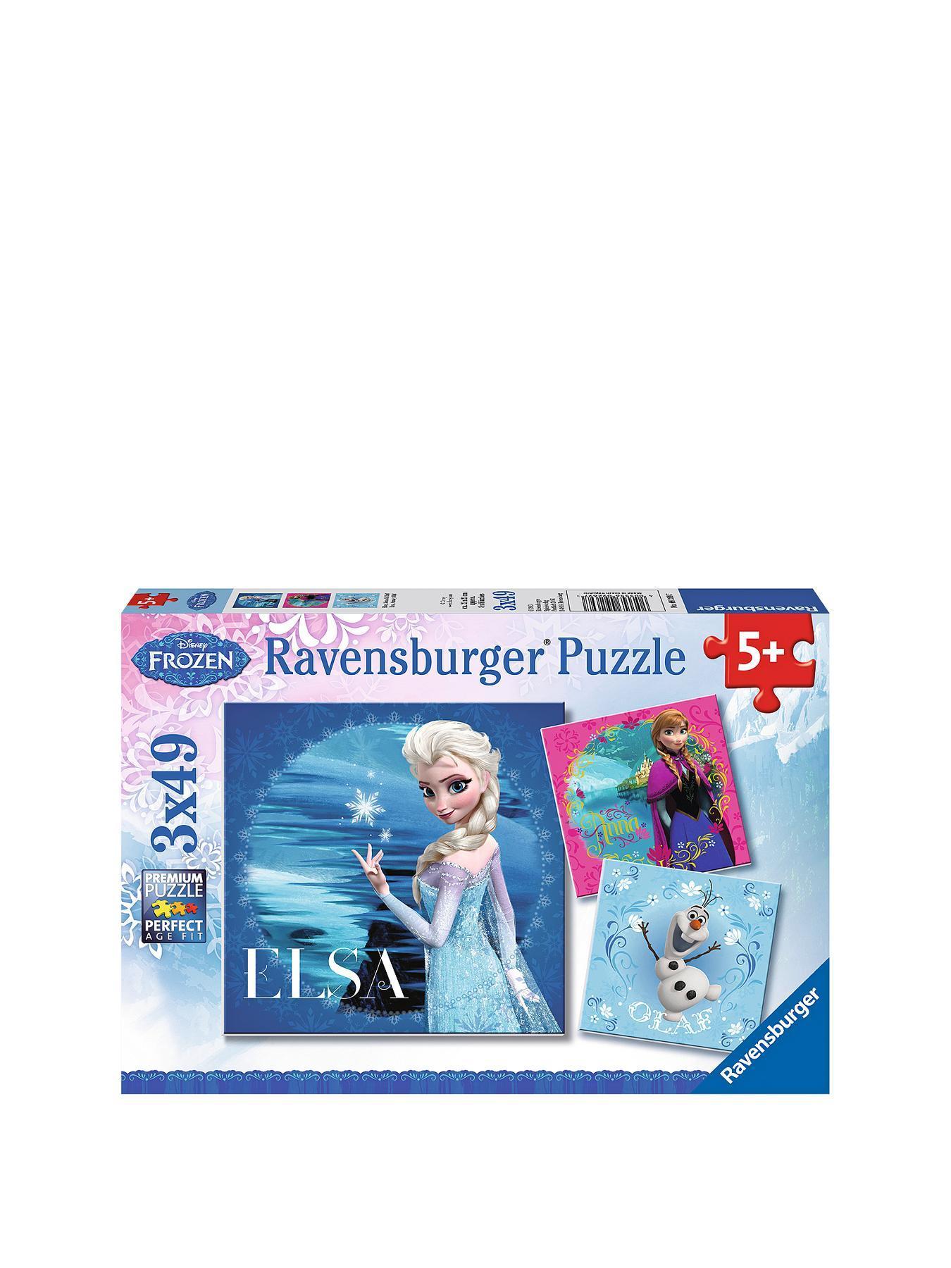 Ravensburger Disney Frozen 3 x 49-Piece Jigsaw Puzzles
