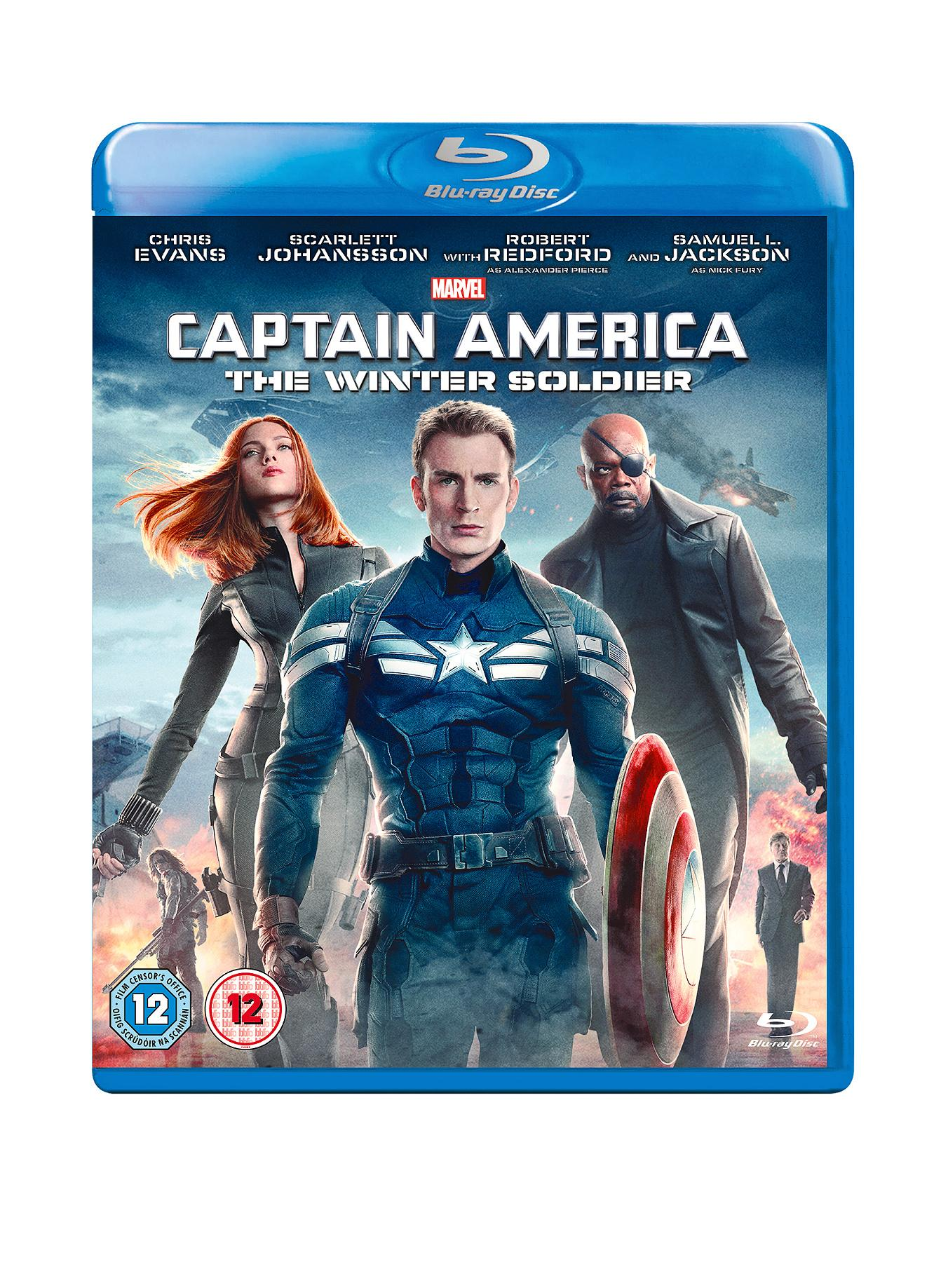 Marvel Marvel's Captain America: The Winter Soldier Blu-ray