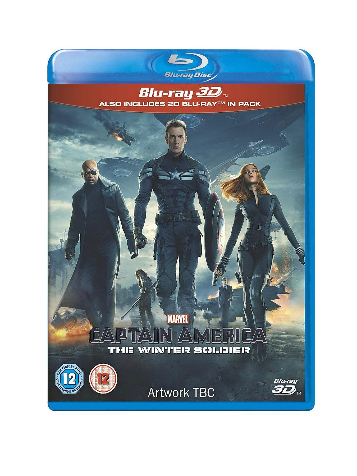 Marvel Marvel's Captain America: The Winter Soldier 3D Blu-ray