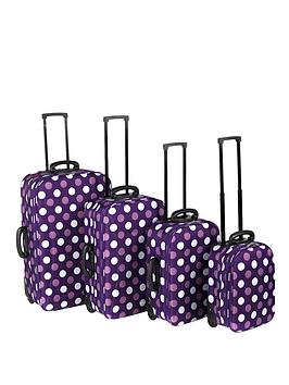 constellation-4-piece-luggage-set-purple-spot