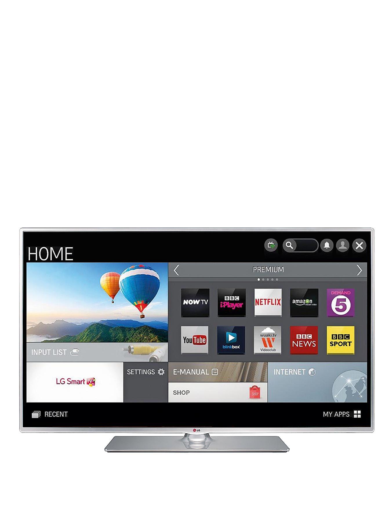 LG 47LB580V 47-inch Widescreen 1080p Full HD Wi-Fi Smart TV