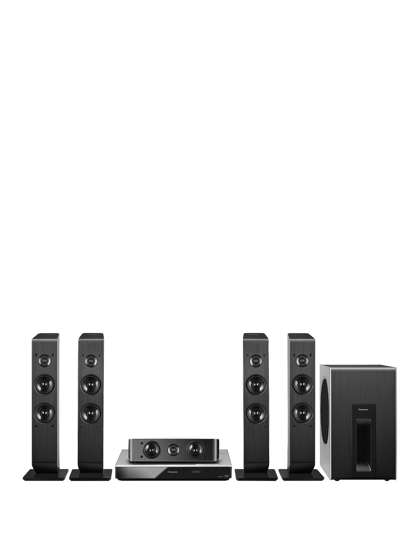 Panasonic SC-BTT505 5.1 3D Smart Blu-ray Home Cinema with Built-in WI-Fi and 4K UHD Upscaling
