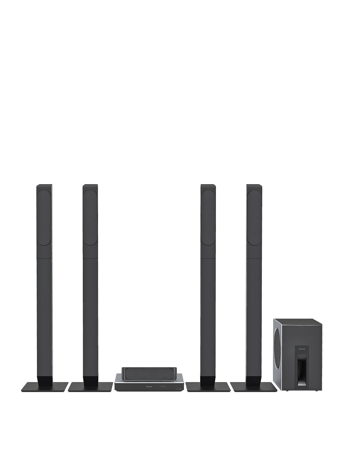 Panasonic SC-BT885 5.1 3D Smart Blu-ray Home Cinema with Built-in Wi-Fi and 4K UHD Upscaling